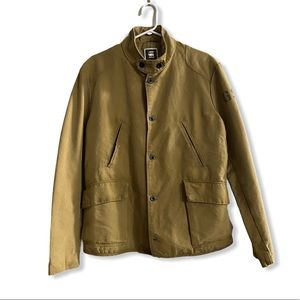 G- Star Buttoned Down Lined Jacket Size XL